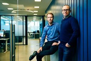 Patrik Berglund, Thomas Sørbø, Xeneta