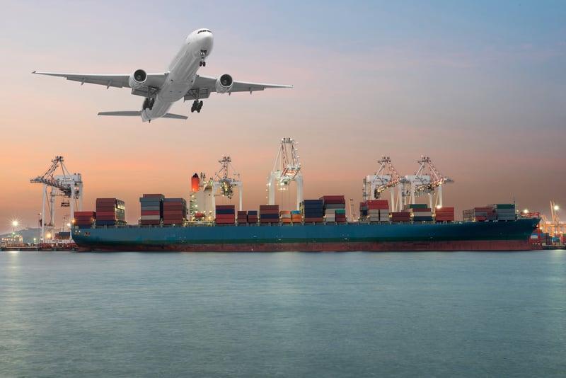 Air Versus Ocean Cargo