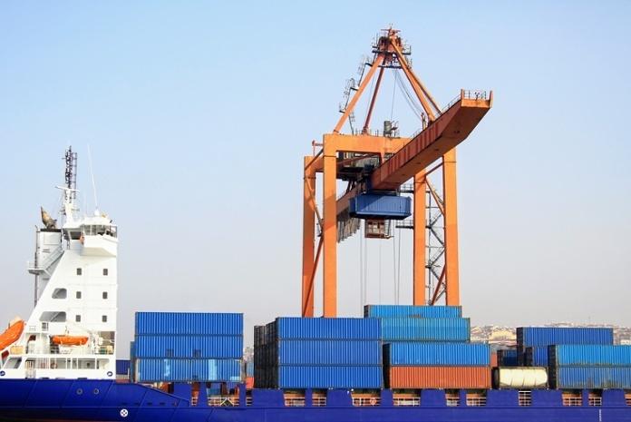 Cargo Ship Under Crane.jpg
