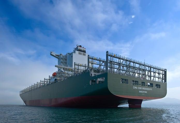 Cargo Ship CMA CGM Mississippi