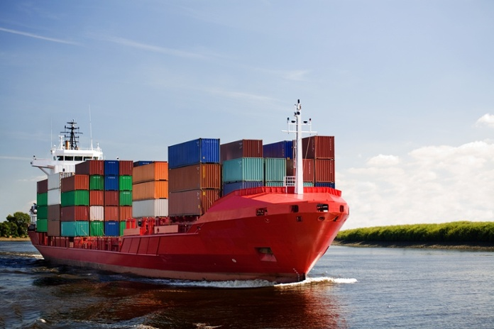 Cargo container ship on river.jpg