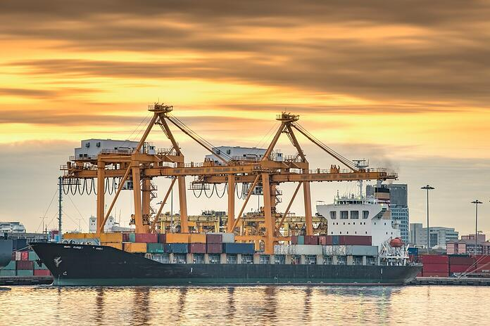 Container ship berthing port.jpg