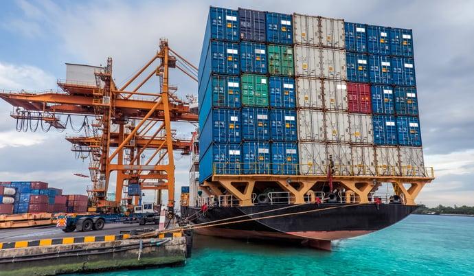 container terminal cargo