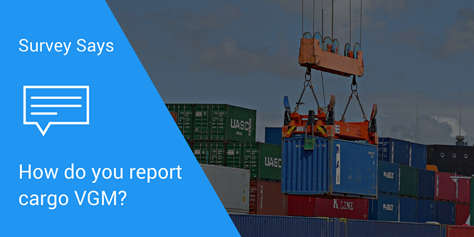 How To Do Your Cargo VGM Report