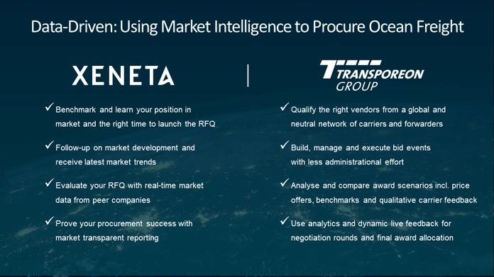 market intelligence for ocean freight procurement