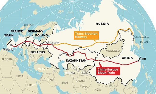 The New Silk Road: Challenging the Shipping Industry