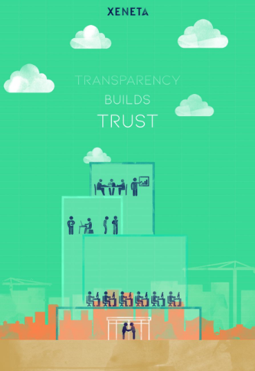 Transparnecy builds trust